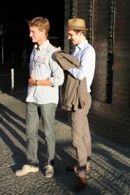 Dominik und Felix, Friedrichstraße