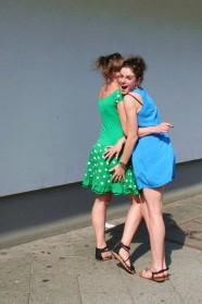 Julia und Isabel, Charlottenburg