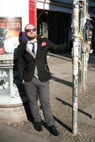Feiner Herr in Berlin-Mitte