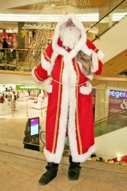 Echter Weihnachtsmann (an Schönhauser Allee gesichtet)